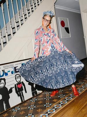 Best Wardrobes in Britain: Caryn Franklin