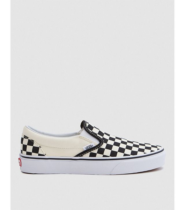 Classic Slip-on in Black/White Check