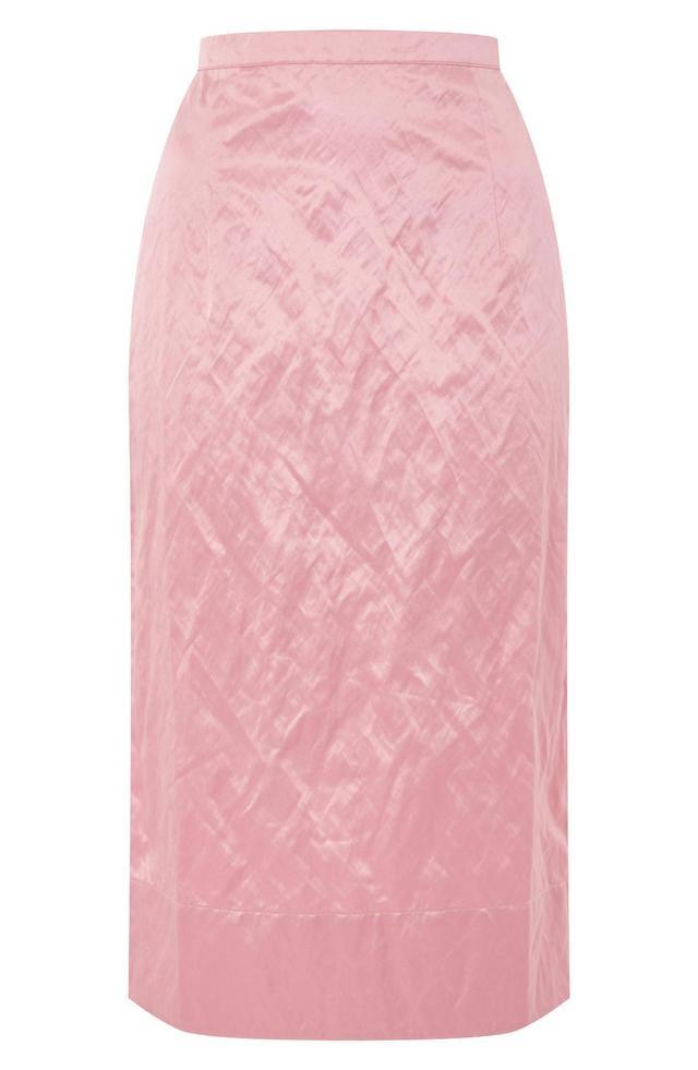 Boutique Rigid Crinkle Skirt