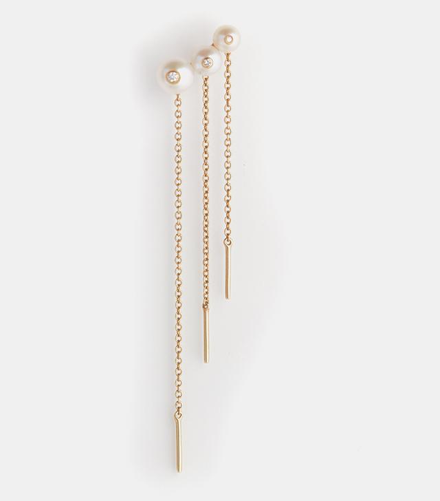Anissa Kermiche Ménage à Trois Chain Earring