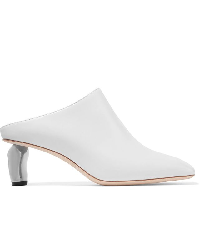 Conie Leather Mules
