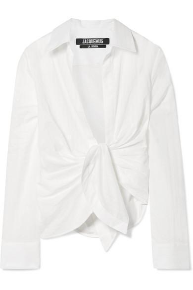 Bahia Knotted Cotton Shirt