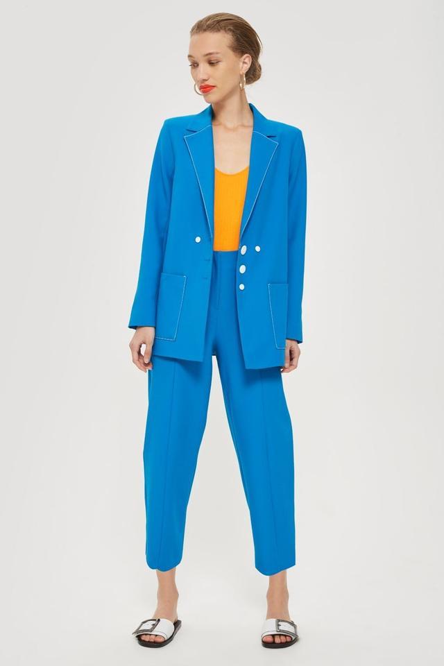 Topshop Contrast Suit