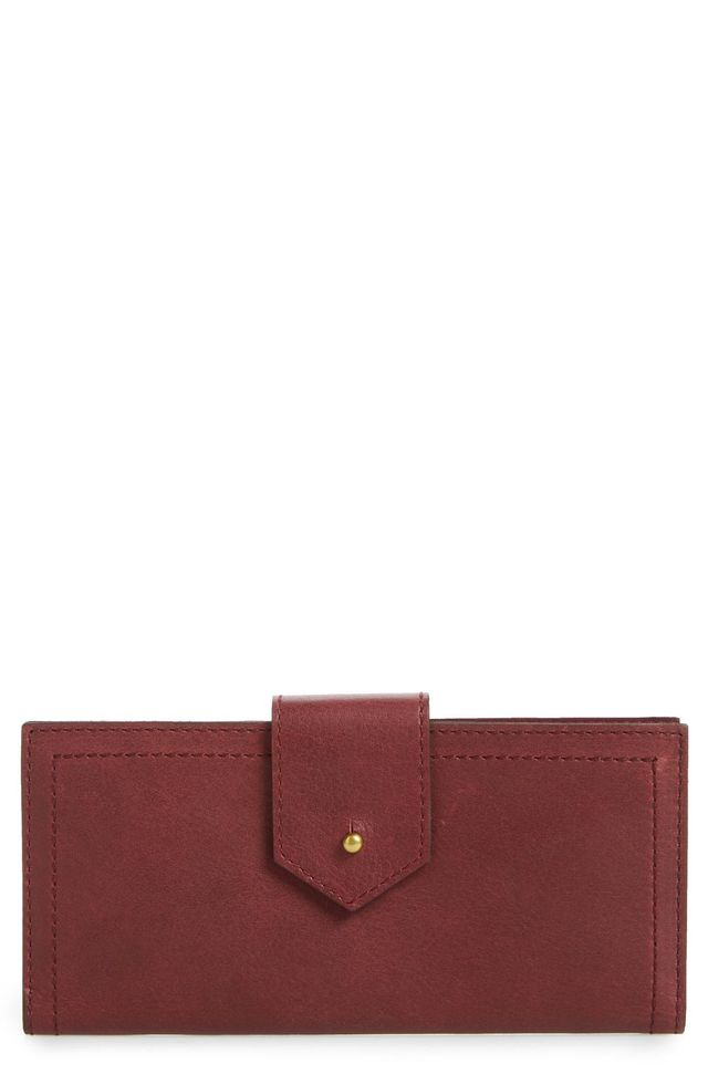 The Post Kansas Leather Wallet -
