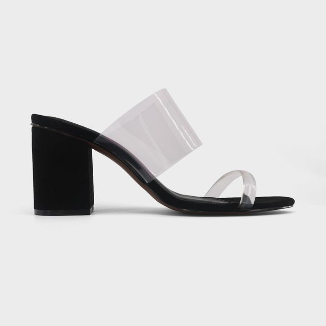 Who What Wear Translucent Heeled Sandal Rumor