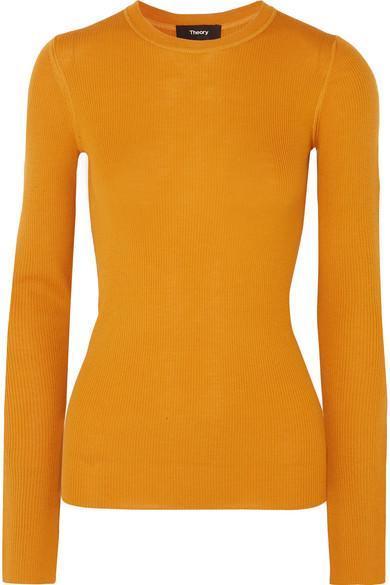 Miriz Ribbed Merino Wool Sweater