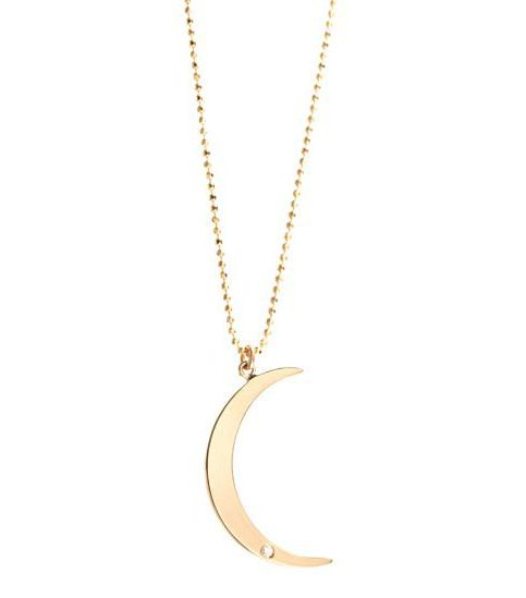 Ariel Gordon Crescent Moon Necklace