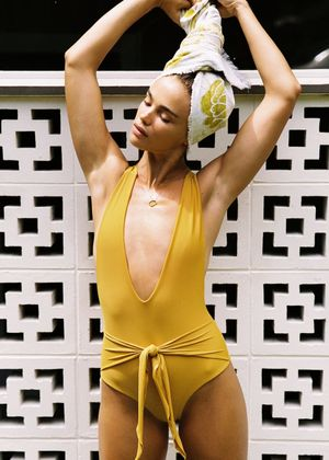We Need Yellow Everything Right Now—Swimsuits Included