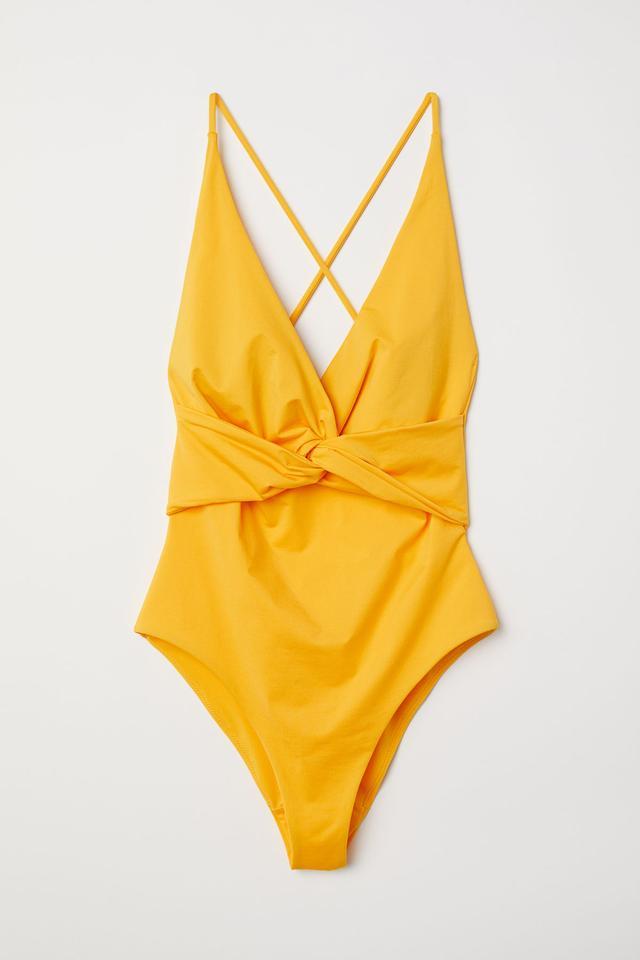 Knot-Detail Swimsuit
