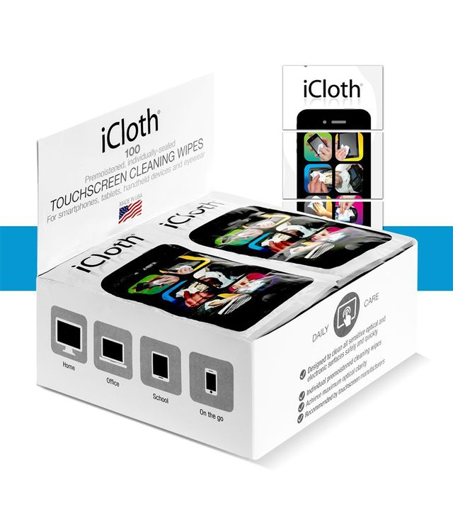 iCloth Small-Screen and Lens Cleaner in 100 Cleaning Wipes