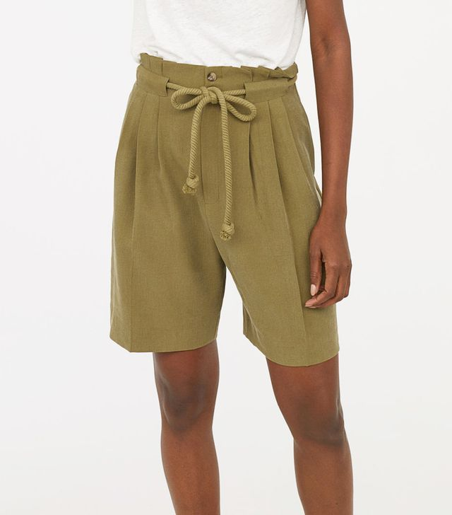 H&M Paper-Bag Shorts