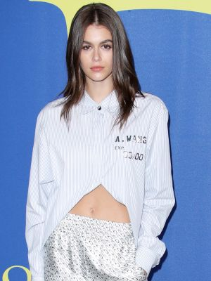 Kaia Gerber Just Wore Boxer Shorts on the CFDA Awards Red Carpet