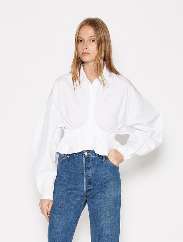 Ellery Sierra Madre Cropped Shirt