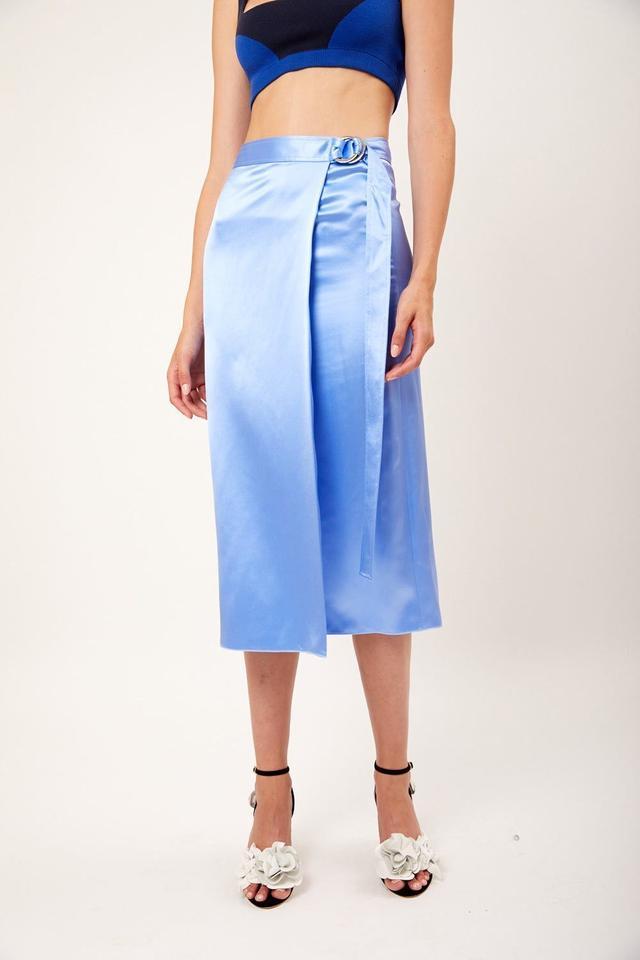 Dion Lee Silk Satin Skirt