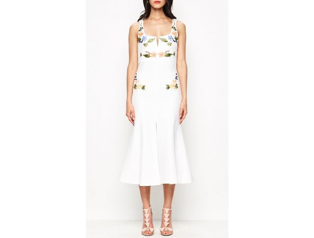 alice McCALL Rainbow City Dress in White