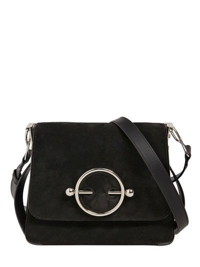 J.W. Anderson Disc Bag Suede Shoulder Bag