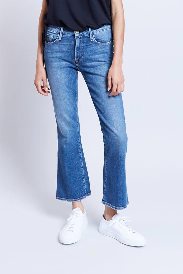 Frame Denim Le Crop Mini Boot Jeans