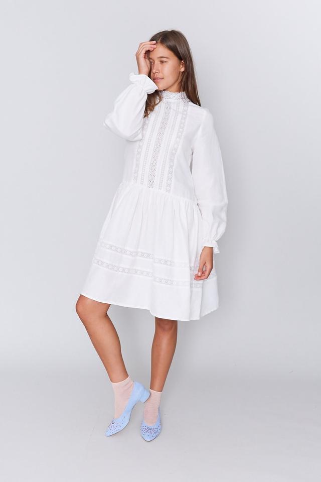 Matin Jissel Lace Trim Dress