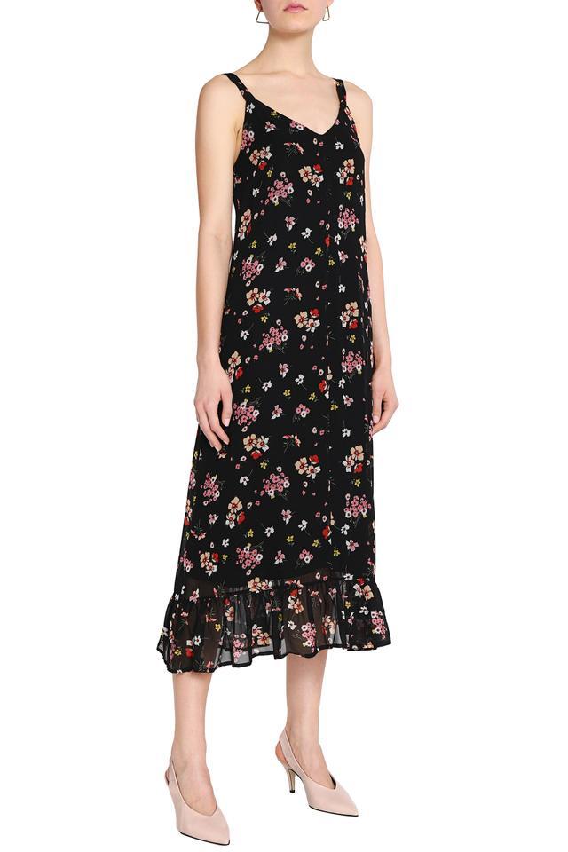 Iris & Ink Dakota Floral-Print Midi Dress