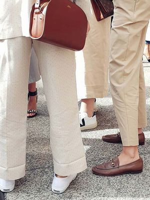 15 Outfits That Prove You Need to Buy a Pair of Beige Pants