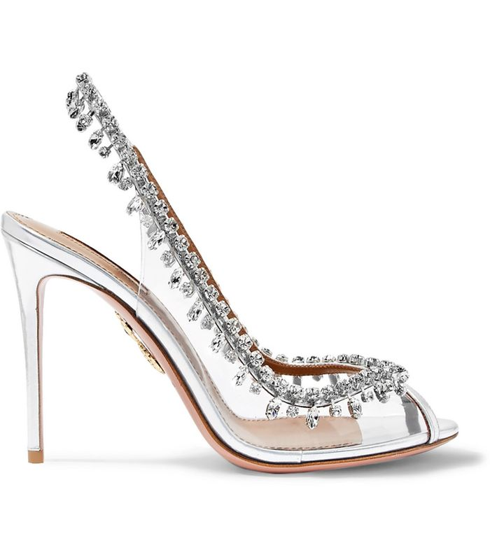 These Clear Cinderella Shoes Will Make Your Feet Feel