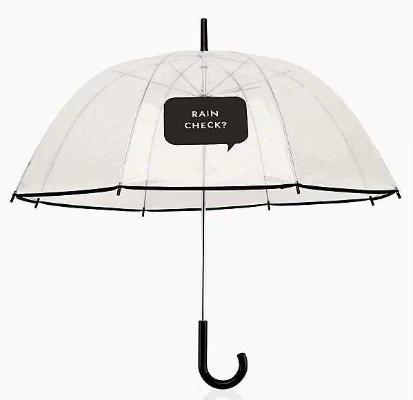 Kate Spade Rain Check? Umbrella