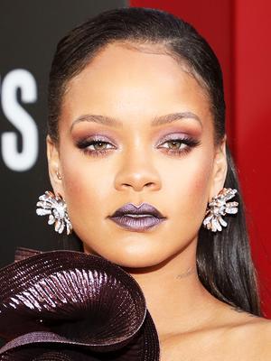 Did Rihanna Wear Secret Fenty Beauty Products to the Ocean's 8 Premiere?