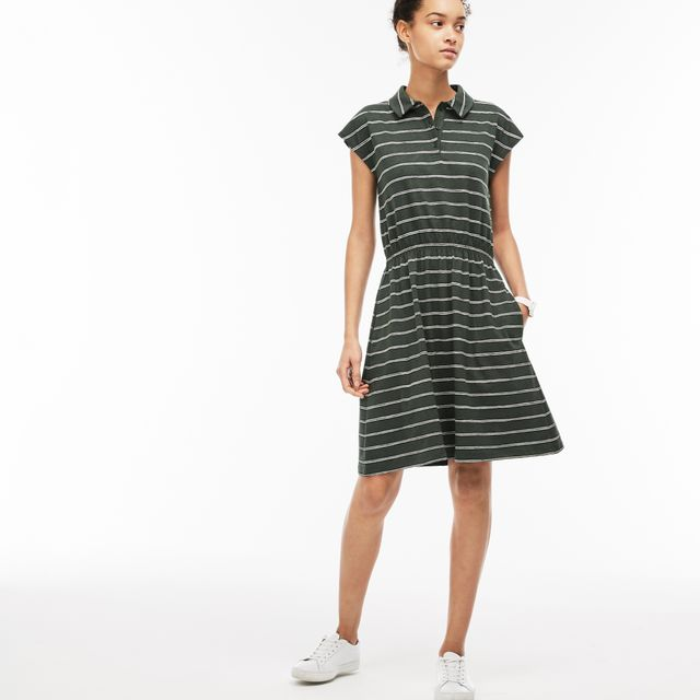 Lacoste Fitted Polo Dress