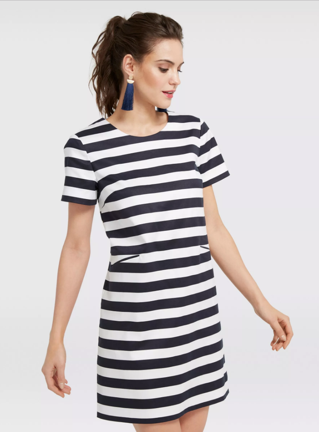 Draper James Stripe Shift Dress