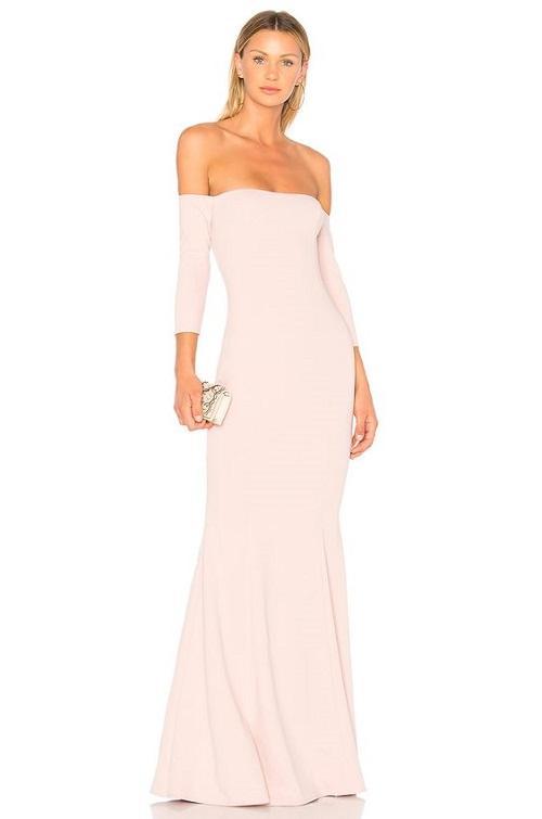 Pink Colored Wedding Dress