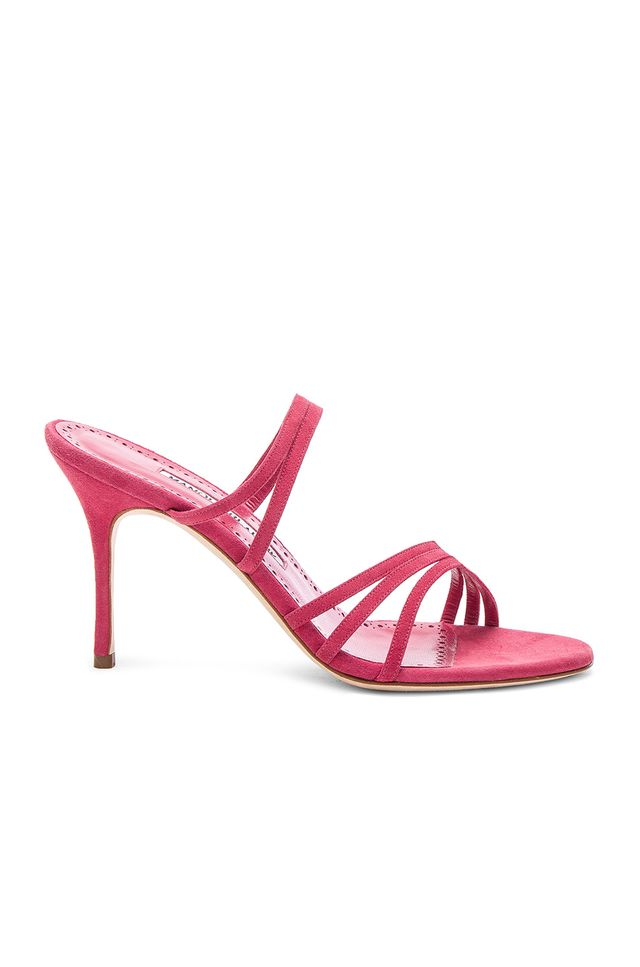 Manolo Blahnik Adena 90 Sandals