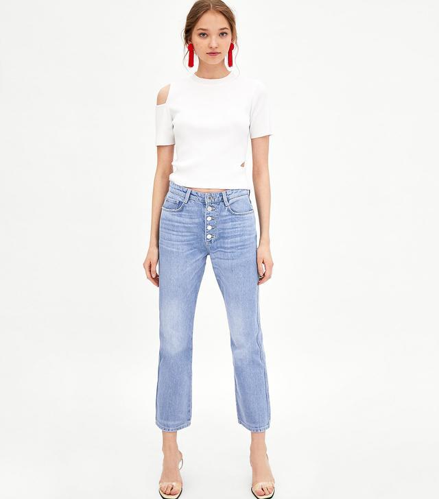 Zara Authentic Denim Boot Cut Jeans