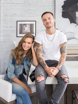 VS Model Josephine Skriver's Nashville Home Is a Modern Scandinavian Dream