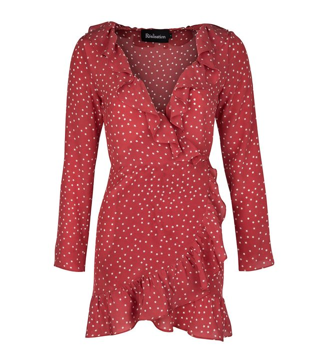 Réalisation Par The Alexandra Dress in Red Star
