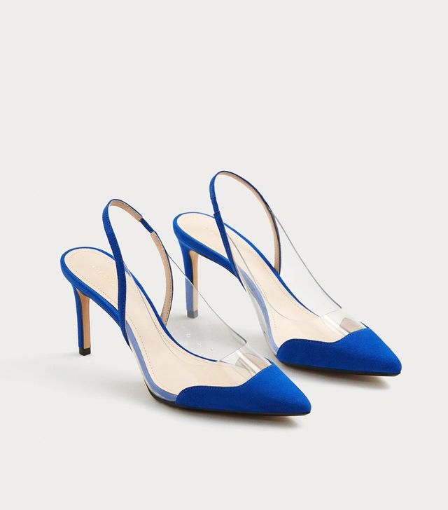 Mango See-Through Panels Stilettos