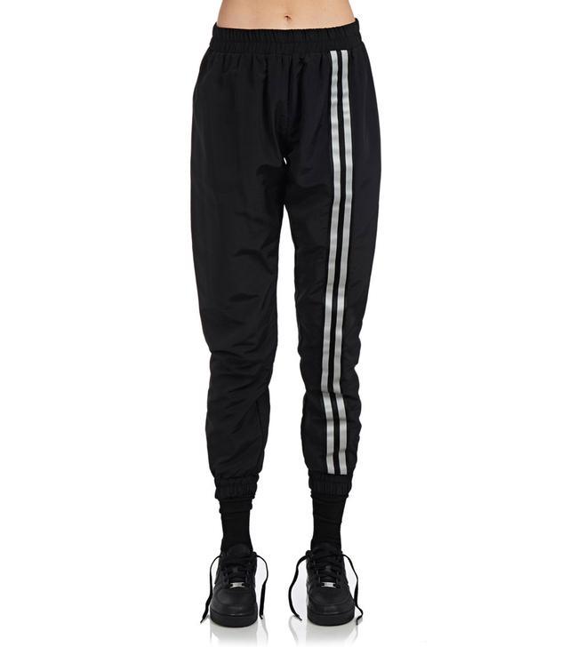 Danielle Guizio Double Striped Nylon Trackpants