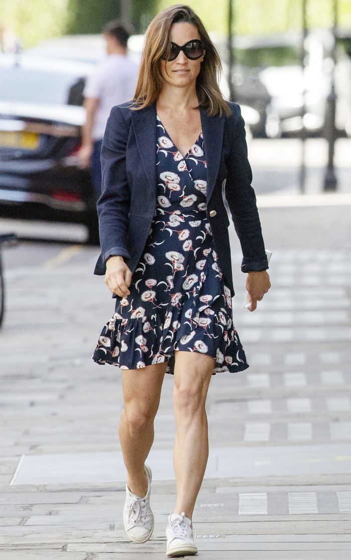 Pippa Middleton Wore The Perfect On Sale J Crew Dress