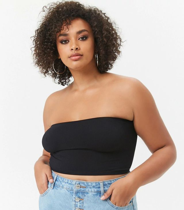 Forever 21 Seamless Ribbed Bandeau