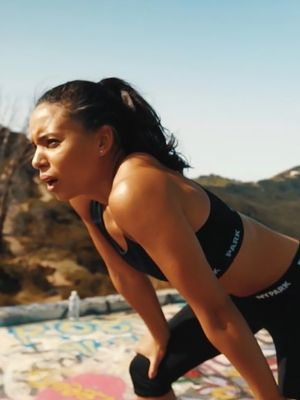 A Day in the Life of Olympian and Trainer Louise Hazel