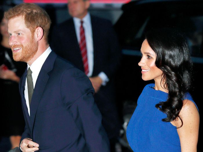 Prince Harry and Meghan Markle in Australia