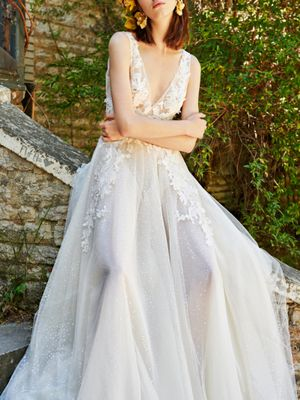 The Prettiest Floral Wedding Dresses for Summer