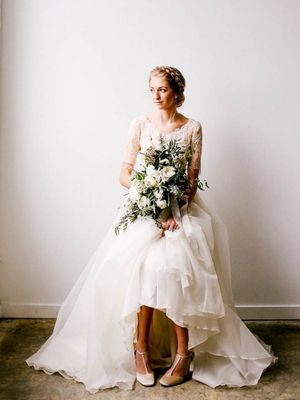 This Elegant Wedding Dress Trend Is Perfect for Your Big Day