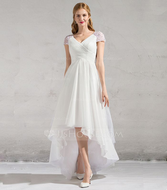 20 High Low Wedding Dresses Perfect For Your Big Day Who What Wear