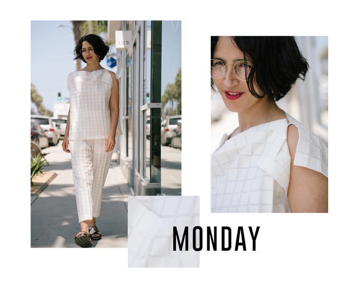 Ahlem Manai-Platt weekday wardrobe