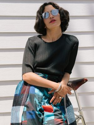 Weekday Wardrobe: How a French Designer Approaches L.A. Style