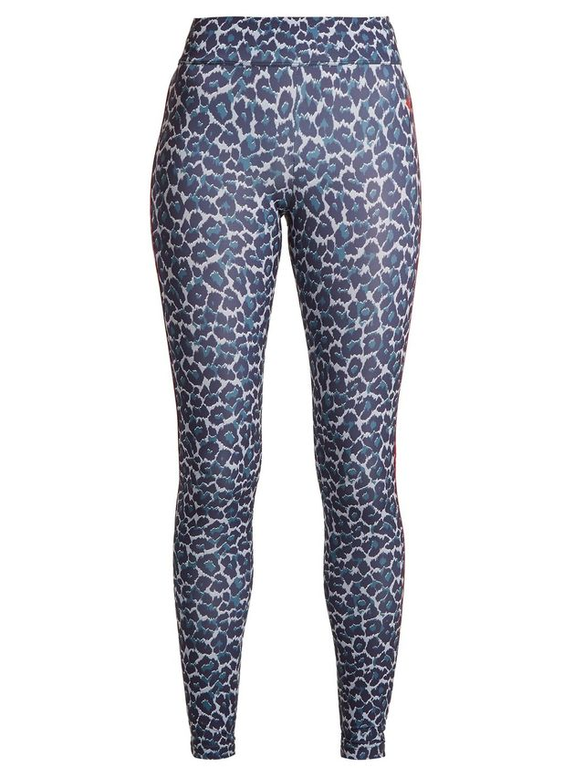 Tamara leopard-print compression leggings