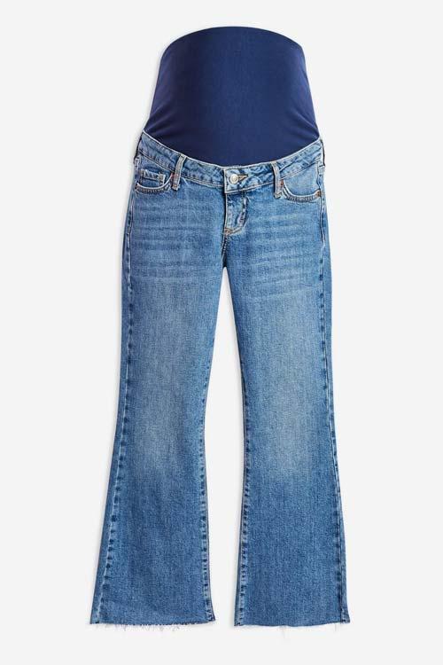 Maternity Jeans babymoon capsule wardrobe