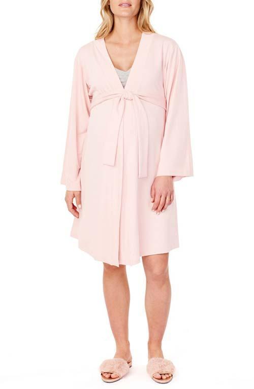 Kimono Maternity Robe Babymoon Capsule Wardrobe
