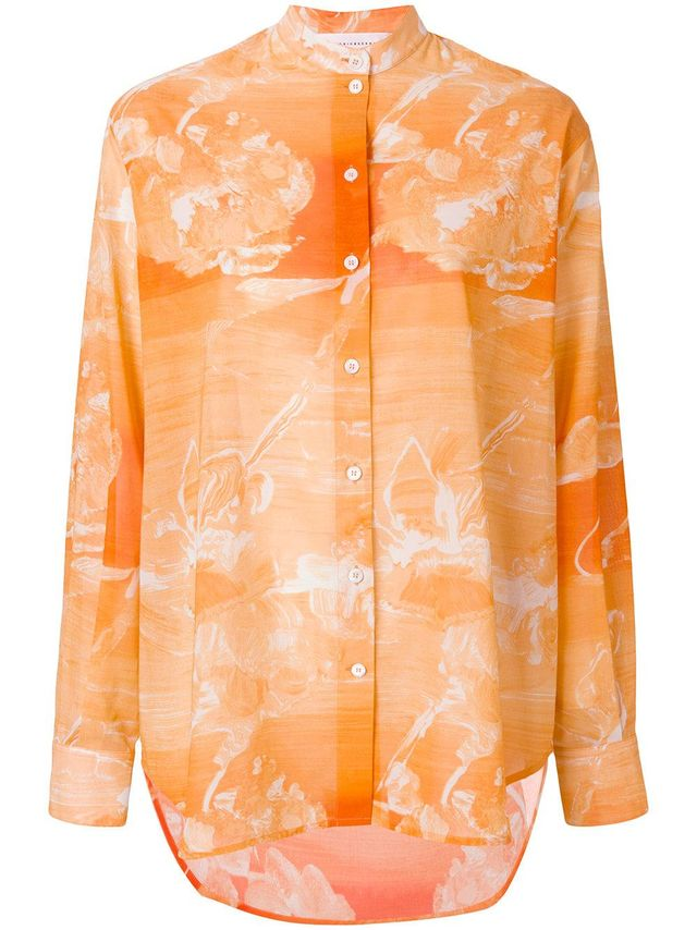 marble effect shirt