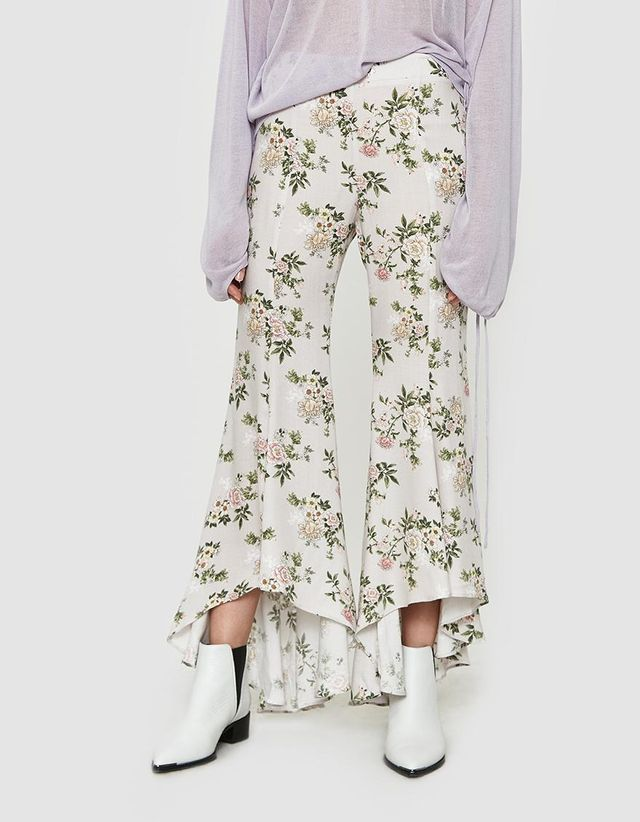 Nora Flare Pant in Floral